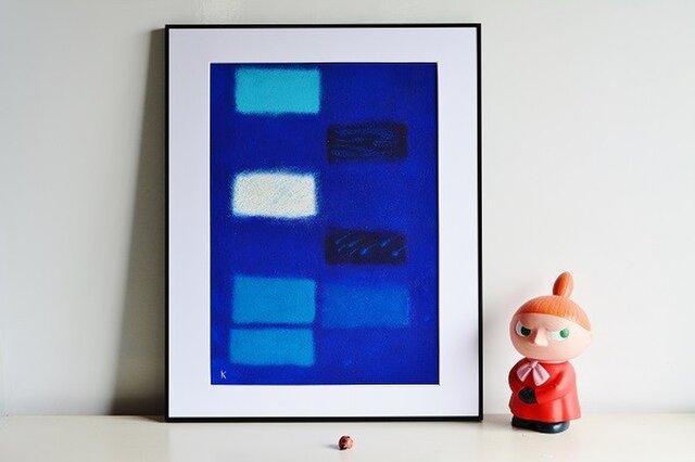 青の為のブルース・作品3(非売品となりました)の画像1枚目