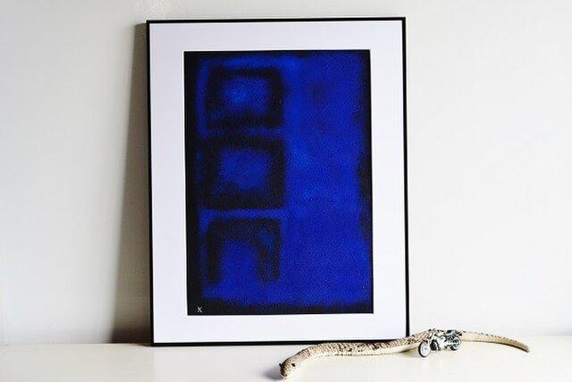 青の為のブルース・作品4(非売品となりました)の画像1枚目
