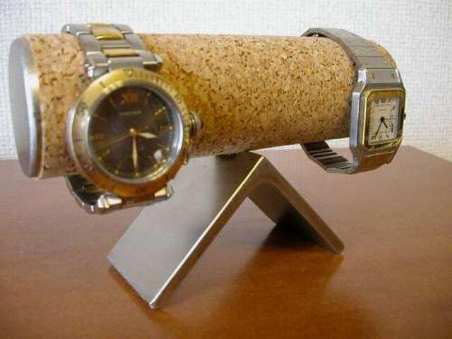 すねた顔の腕時計スタンドの画像1枚目