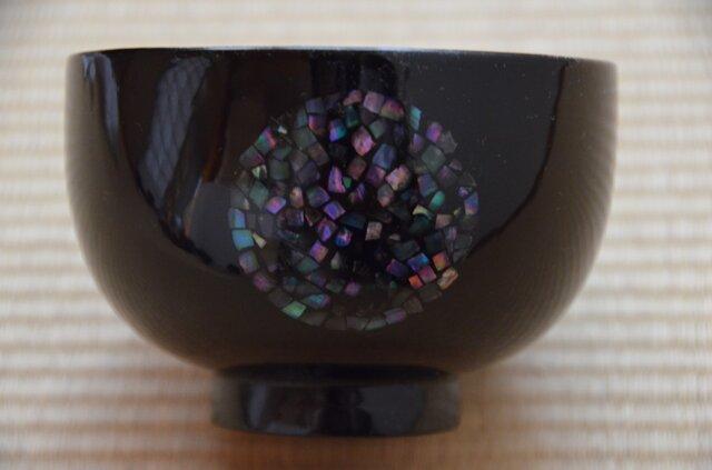 螺鈿丸紋椀の画像1枚目