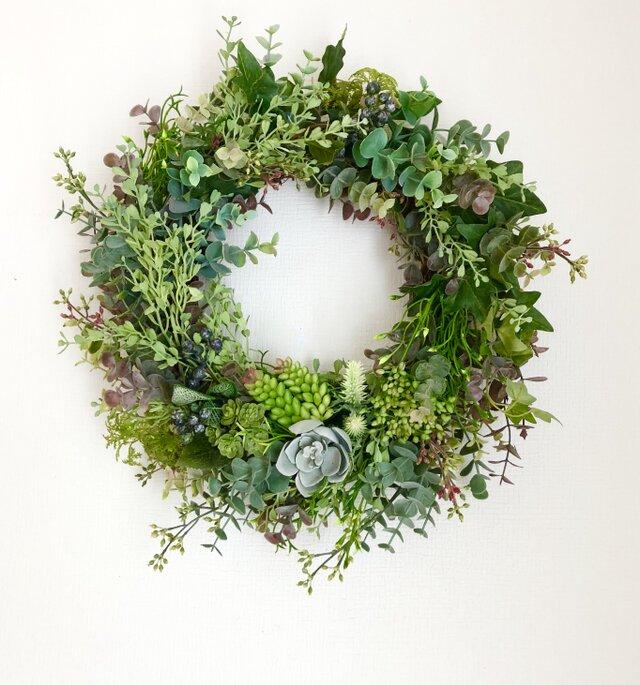 Green wreath Ⅱの画像1枚目