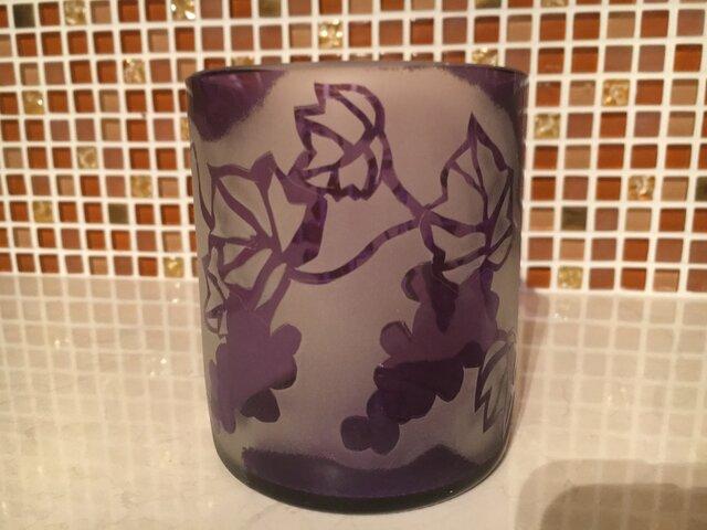 葡萄グラスの画像1枚目