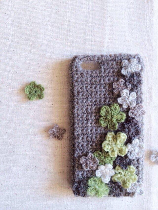 iPhone5/5s/6ケース 【フラワー】の画像1枚目