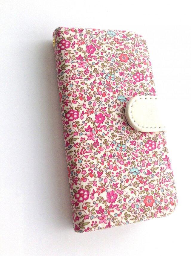 他機種 製作可『リバティiphone7.8.SE2 ケース ケイティ&ミリィ』 iphone 11の画像1枚目