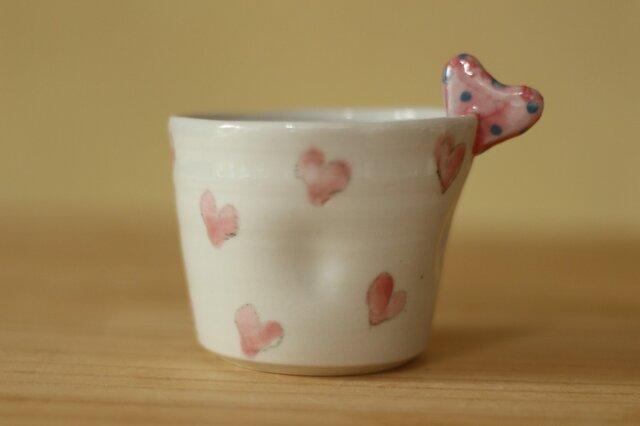 ハートのカップ。の画像1枚目