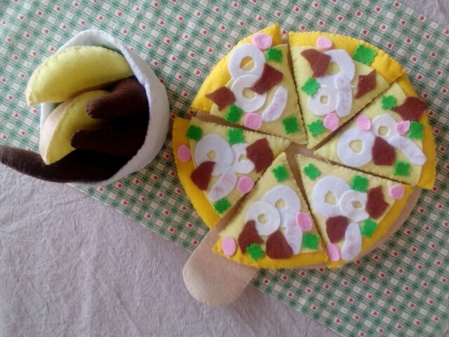 ピザセット クリームの画像1枚目