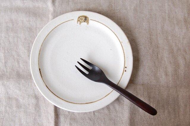 どうぶつケーキ皿・ぞうの画像1枚目