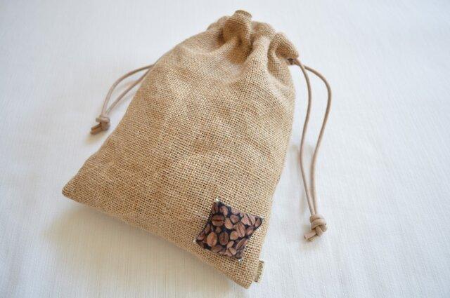 巾着 コーヒー 豆の画像1枚目