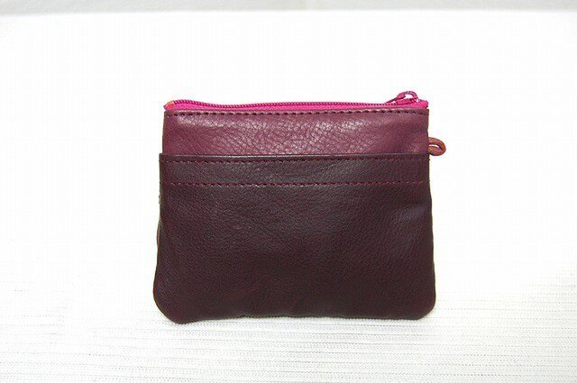 角型財布(ワインコンビ2)の画像1枚目