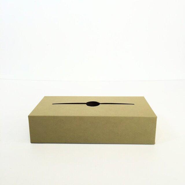 テッシュケースボックス(緑色)の画像1枚目