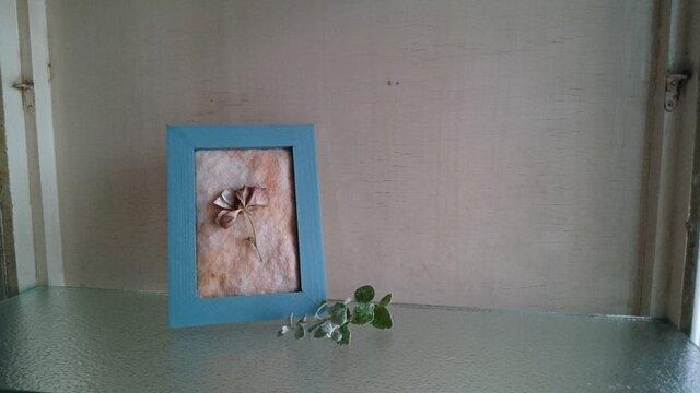 植物のフレーム ラナンキュラスの画像1枚目
