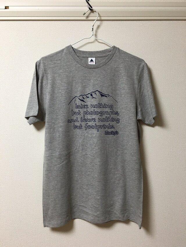 【Mountain】Rocky's オリジナルTシャツ グレーの画像1枚目