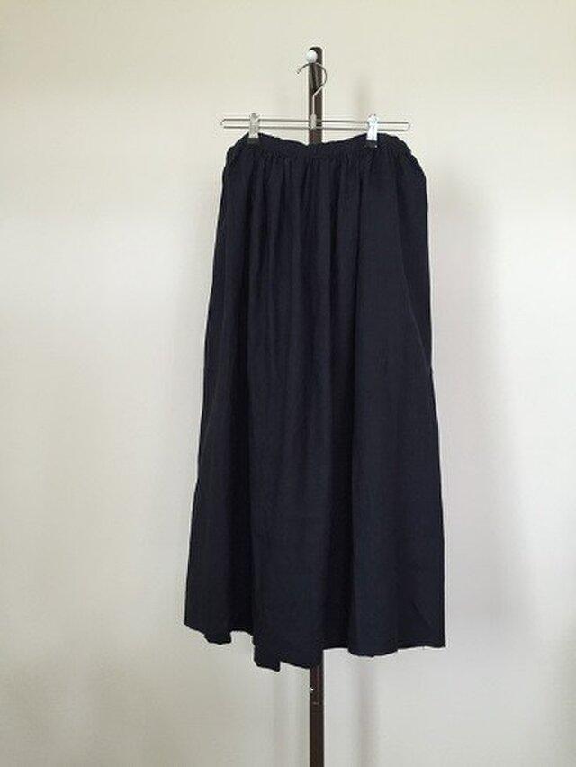 リネンのゆったりスカート M~Lの画像1枚目