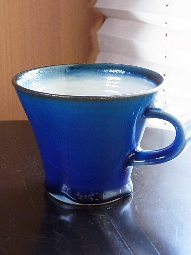 青釉マグカップの画像1枚目