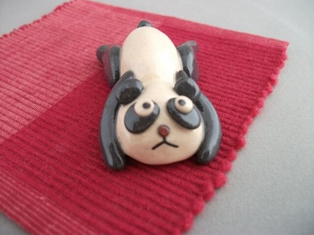 だらだらパンダの箸置きの画像1枚目