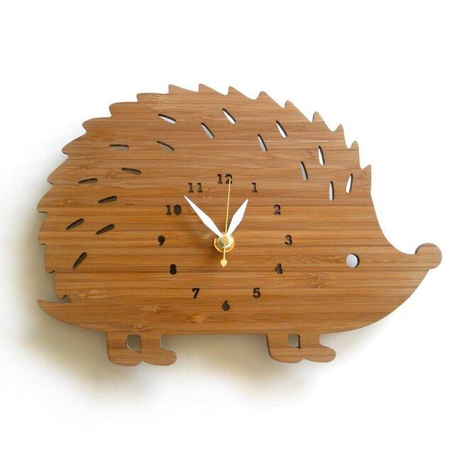 Decoylabの掛け時計 HEDGEHOGの画像1枚目