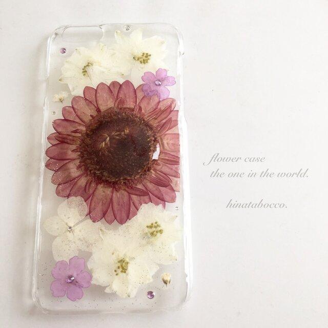 amethyst violet*ガーベラ【iPhone6/6s】の画像1枚目
