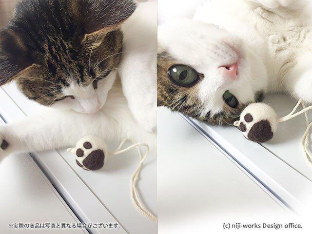 猫戯玉-cat the ball-ひとつぶ 【白玉あずきニクキュー/29ver】の画像1枚目