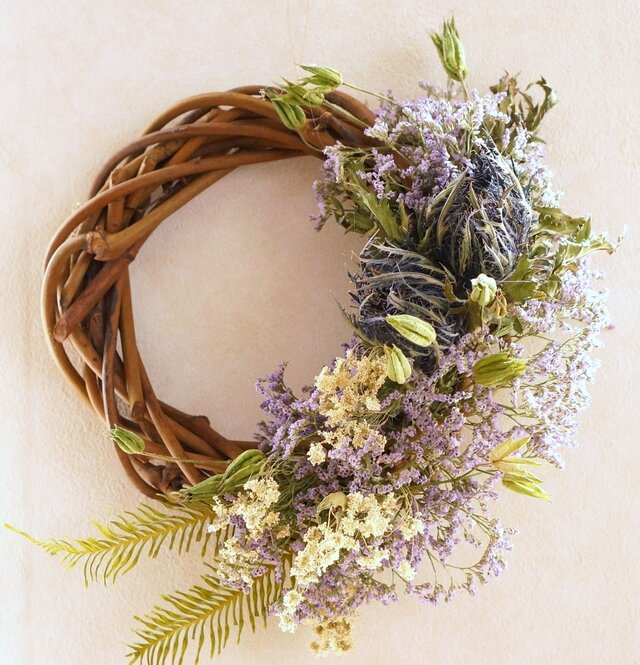 purple wreathの画像1枚目