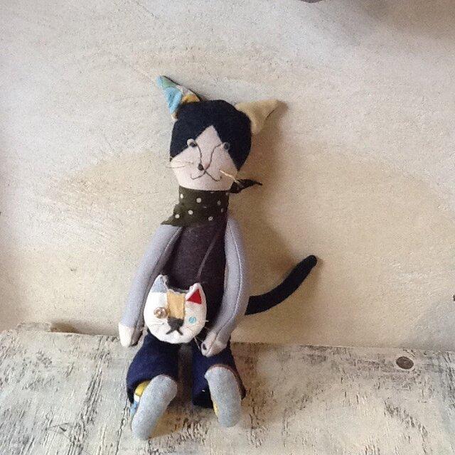 猫くんの猫バッグの画像1枚目