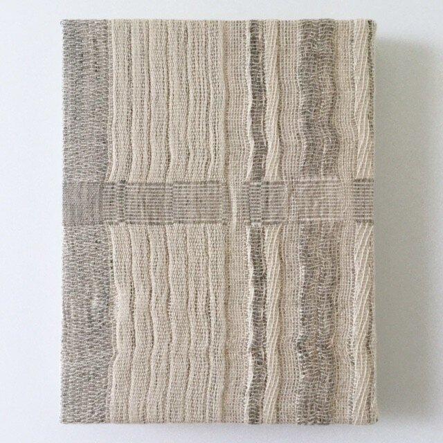 #16001 F0サイズ 手織りファブリックパネルの画像1枚目