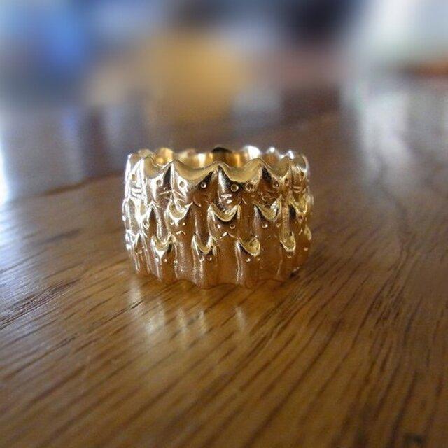 ネコ∞リング (ゴールド)の画像1枚目