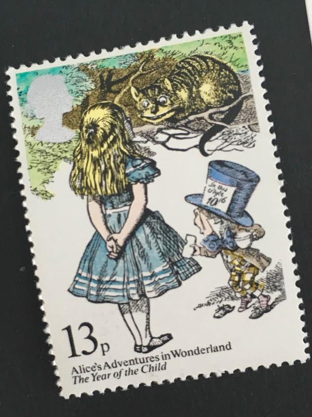 ちいさなartmuseum  Scotland stamp  2枚setの画像1枚目