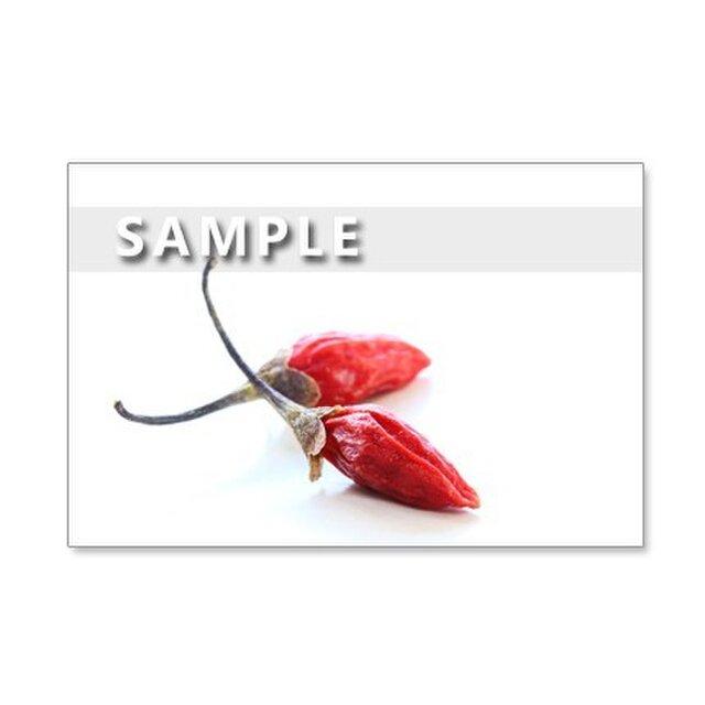 1170) 真っかなクコの実、栗、柚子など  ポストカード5枚組の画像1枚目