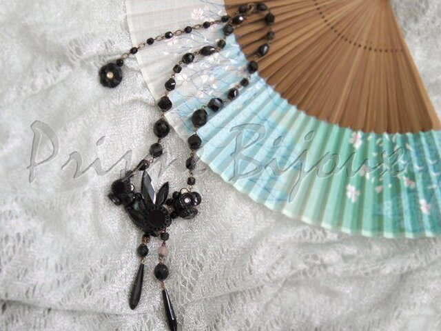 "Necklace ""Luciole #1""の画像1枚目"