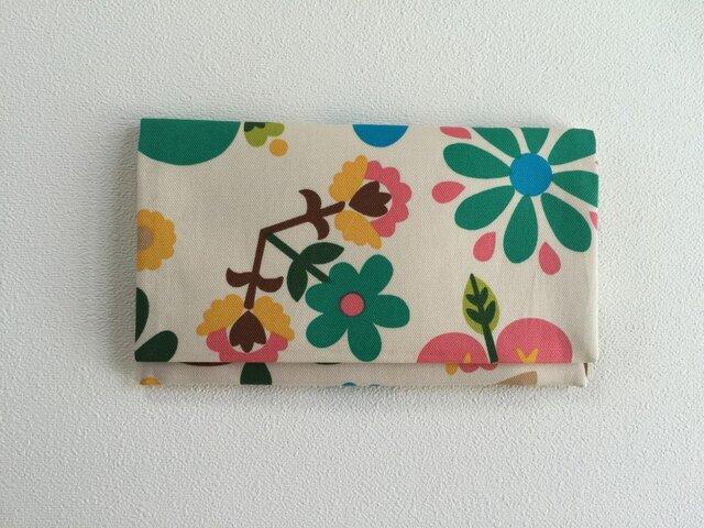 懐紙、通帳いれ flower and birdの画像1枚目