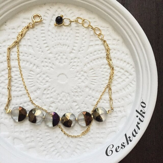 monotone design braceletの画像1枚目