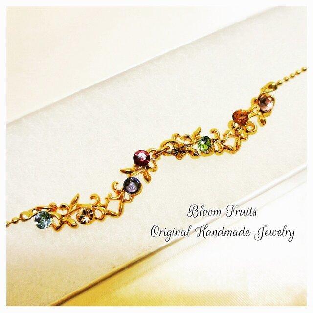 8つの宝石のネックレスの画像1枚目