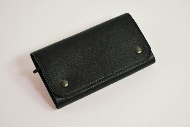 財布 wrap-L [ブラック]の画像1枚目