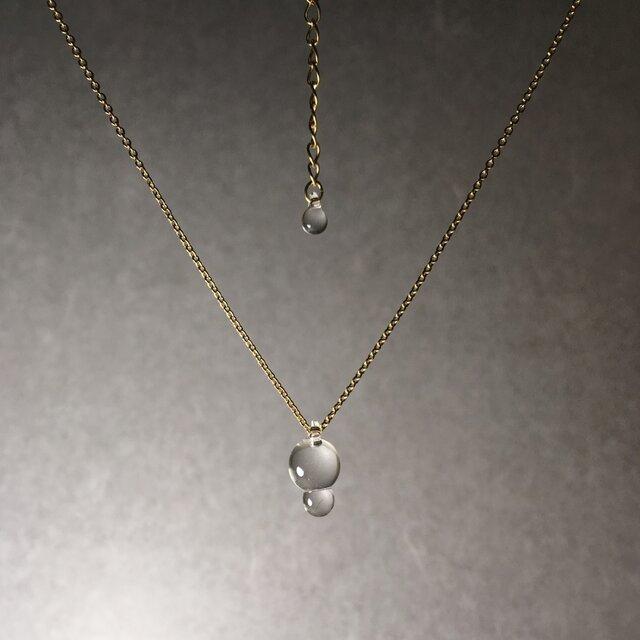 -Dew- short necklaceの画像1枚目