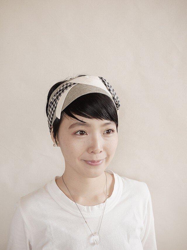 NEW▷patchwork turban <ss 3cloth-026>の画像1枚目