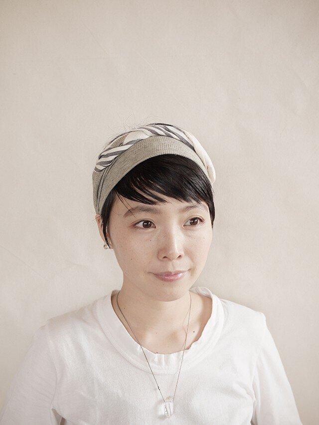 NEW▷patchwork turban <ss 3cloth-027>の画像1枚目