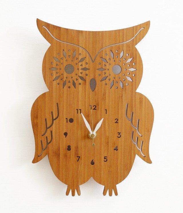 Decoylabの掛け時計 AMAZING OWLの画像1枚目