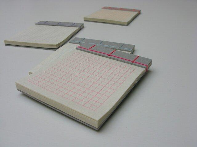 楚々 和綴じ帳Sサイズ 4色セットの画像1枚目