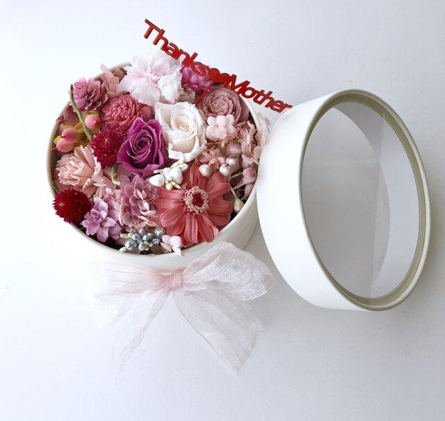 ご結婚お祝いやプレゼントに♡フラワーボックスの画像1枚目