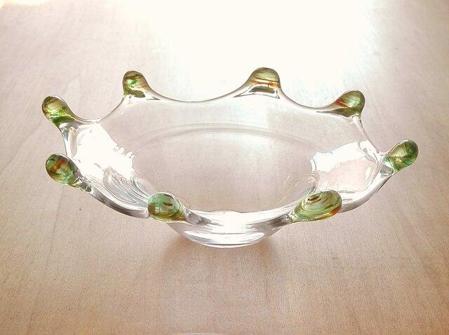 グリーンリップ皿【再販】2の画像1枚目