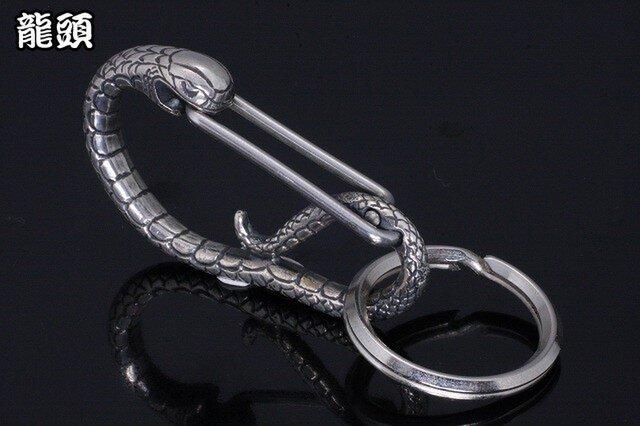 カラビナ メンズ : 蛇カラビナの画像1枚目