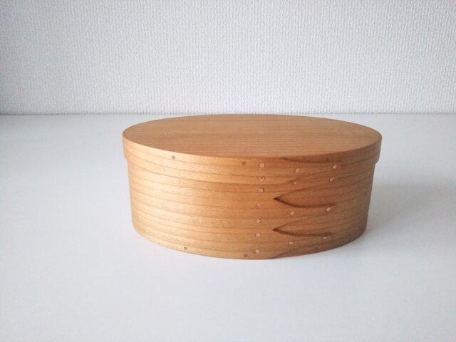 弁当箱 #3(チェリー)- Shaker Oval Box #3の画像1枚目