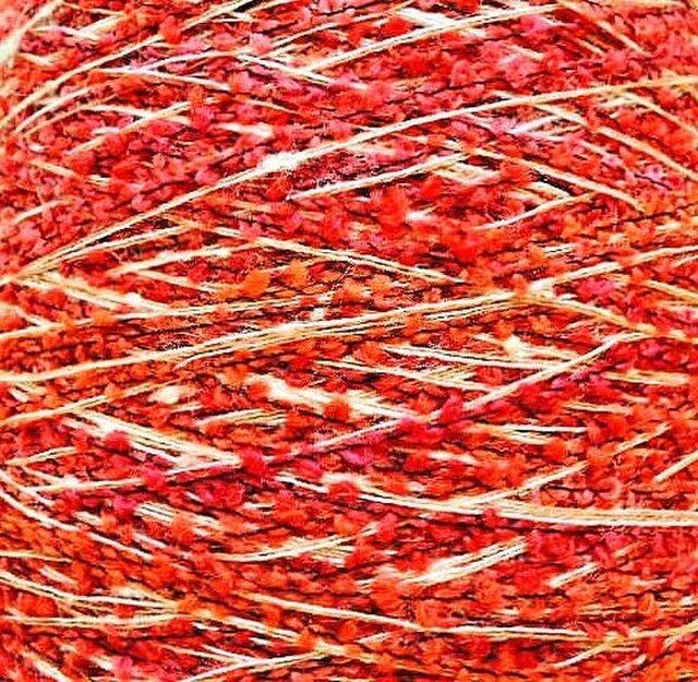 ブークレミックス糸 ミックスカラー 109 gの画像1枚目