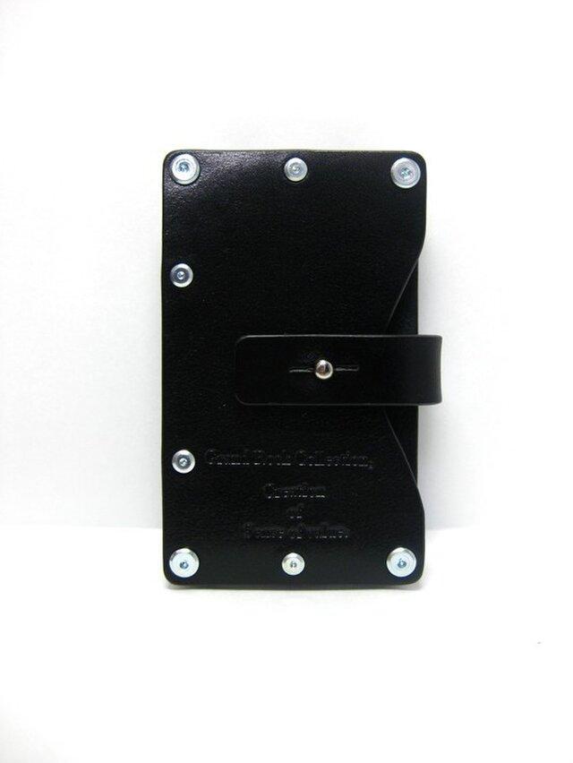 Card case-002-名刺入れ ブラックの画像1枚目