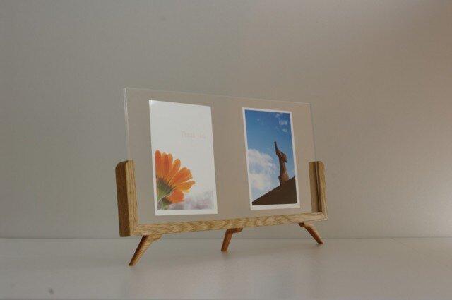 PhotoFrame(Mid) (材種:ナラ)の画像1枚目