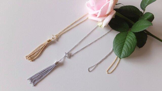 shootinng star☆彡long necklaceの画像1枚目