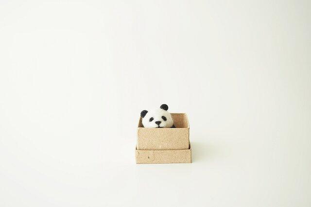 <約3㎝シリーズ>パンダの画像1枚目