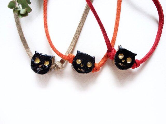黒猫のチョーカーの画像1枚目