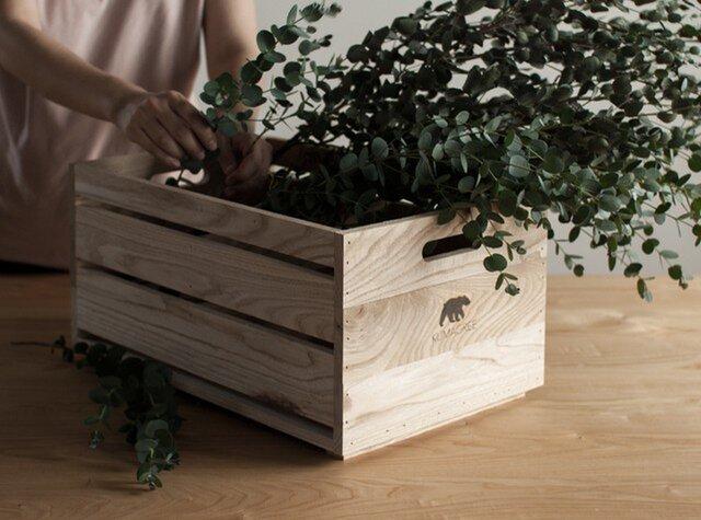 栗の木ボックス(深)の画像1枚目