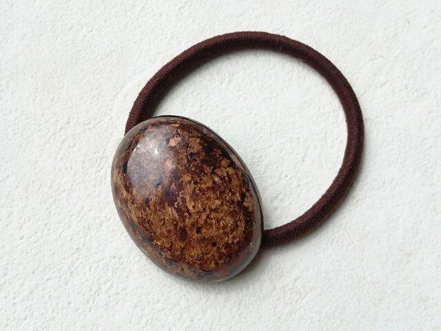 天然石の髪飾り「ブロンザイト」Ⅰの画像1枚目